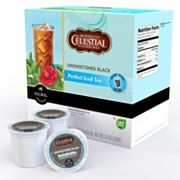Keurig K-Cup Portion Pack Celestial Seasonings Unsweetened Black Perfect Iced Tea - 16-pk.