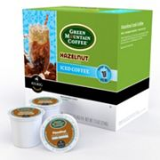 Keurig K-Cup Portion Pack Green Mountain Coffee Hazelnut Iced Coffee - 16-pk.