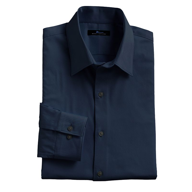 Mens cotton spandex shirt kohl 39 s for Tony collar dress shirt