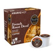 Keurig® K-Cup® Pod Tully's Coffee French Roast Decaf Coffee - 18-pk.