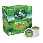 Keurig K-Cup Portion Pack Green Mountain Coffee Decaf Breakfast Blend - 18-pk.