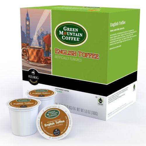 Keurig® K-Cup® Pod Green Mountain Coffee English Toffee - 18-pk.
