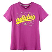 adidas Heart Tee - Girls 7-16