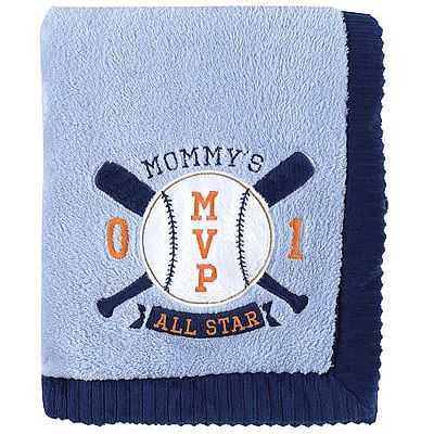 Carter's Mommy's MVP Velboa Blanket