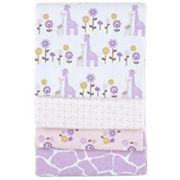 Carter's 4-pk. Giraffe Safari Receiving Blankets