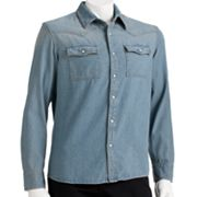 Urban Pipeline Denim Western Shirt - Men