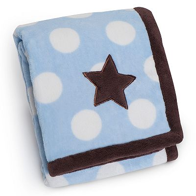 Carter's Star Polka-Dot Snuggle-Me Blanket