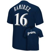 Majestic Milwaukee Brewers Aramis Ramirez Tee - Boys 8-20