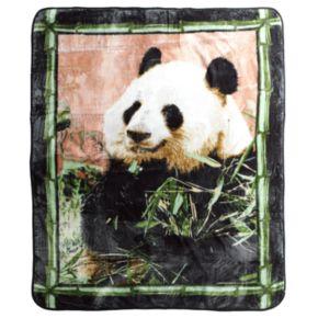 Panda Hi Pile Super Plush Throw Blanket