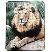 Regal Lion Hi Pile Super Plush Throw Blanket