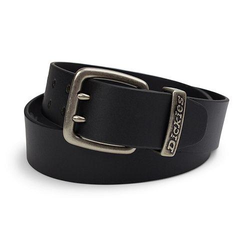 Dickies Double-Grommet Leather Belt - Men