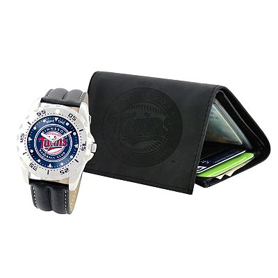Minnesota Twins Watch and Wallet Gift Set