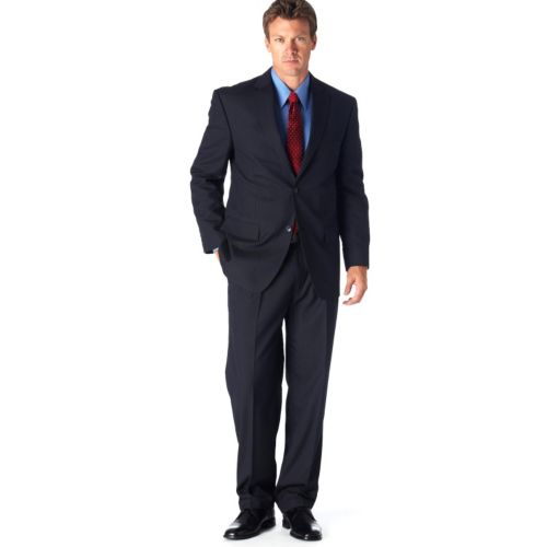 Haggar® Classic-Fit Navy Pinstripe Suit Jacket - Men