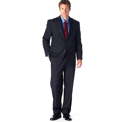 Haggar® Classic-Fit Navy Pinstripe Suit Jacket