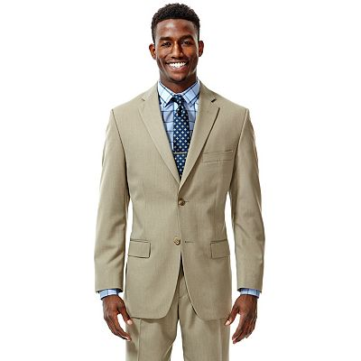 Haggar Herringbone Striped Suit Jacket