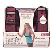 empower Adjustable Weighted Walking Vest