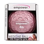 empower 4-lb. Fingertip Grip Medicine Ball
