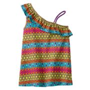 Jumping Beans Geometric Asymmetrical Tank - Girls 4-7