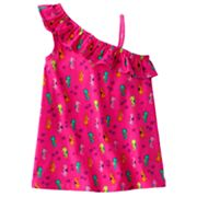 Jumping Beans Sea Horse Asymmetrical Tank  - Girls 4-7