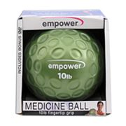 empower 10-lb. Fingertip Grip Medicine Ball