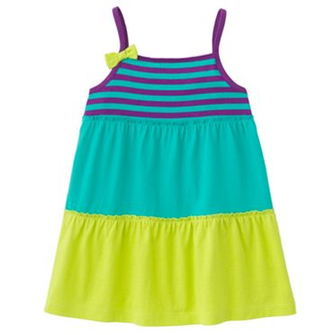 Jumping Beans Colorblock Tank - Girls 4-7