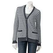 It's Our Time Striped Cardigan - Juniors