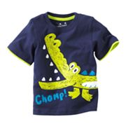 Jumping Beans Mock-Layer Alligator Tee - Baby