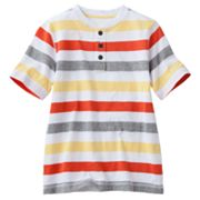Urban Pipeline Striped Slubbed Henley - Boys 8-20