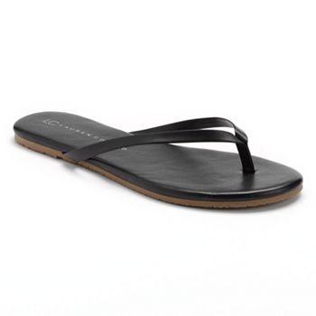 LC Lauren Conrad Womens Flip-Flops