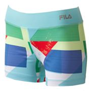 FILA SPORT Geometric Compression Shorts