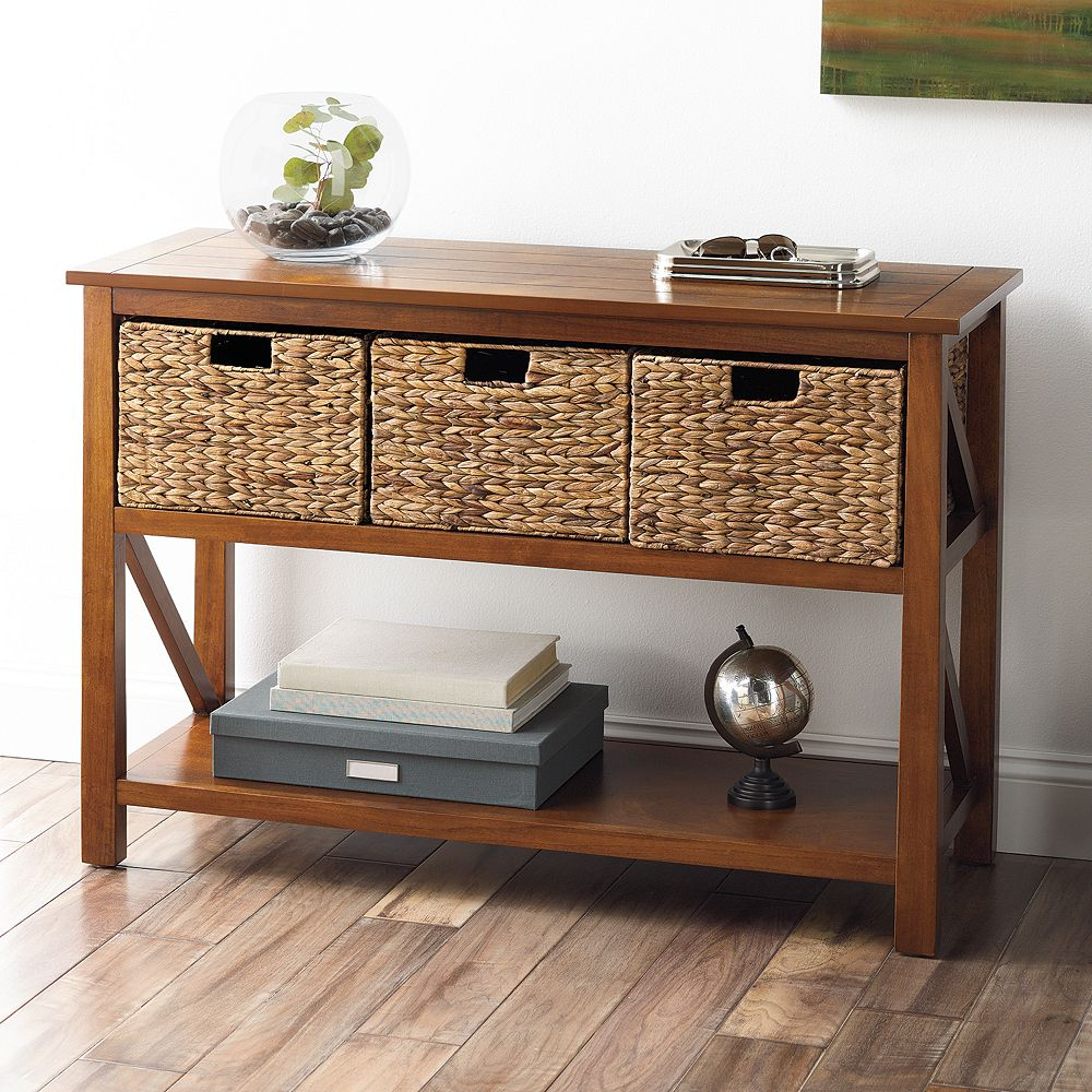Sonoma goods for life 4 pc cameron console table set