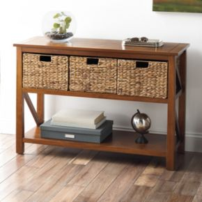 SONOMA Goods for Life? Cameron Console Table 4-piece Set