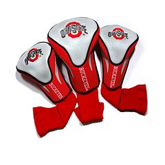 Team Golf Ohio State Buckeyes 3 pc Contour Head Cover Set
