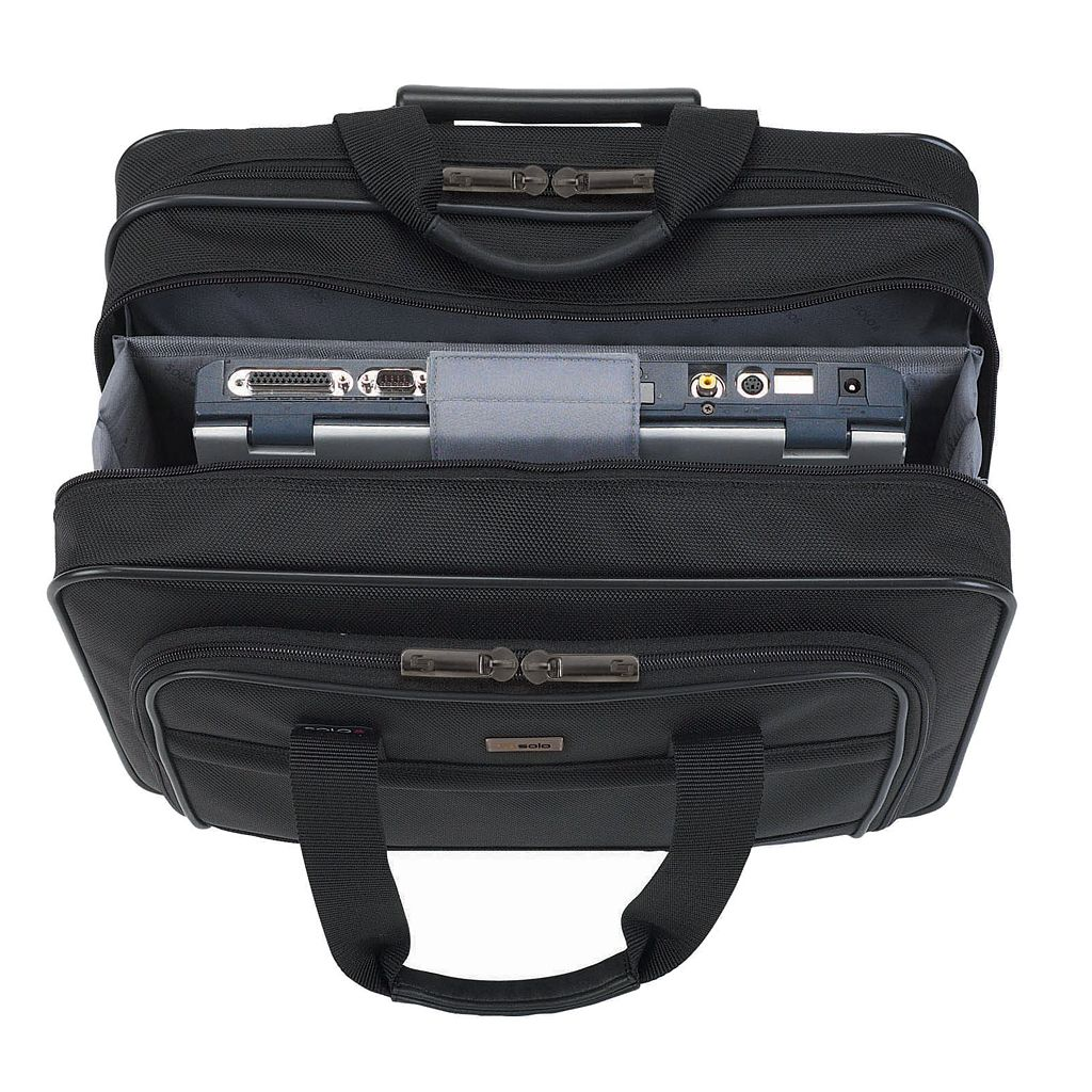 Solo Classic Wheeled 15.6-in. Laptop Business Case