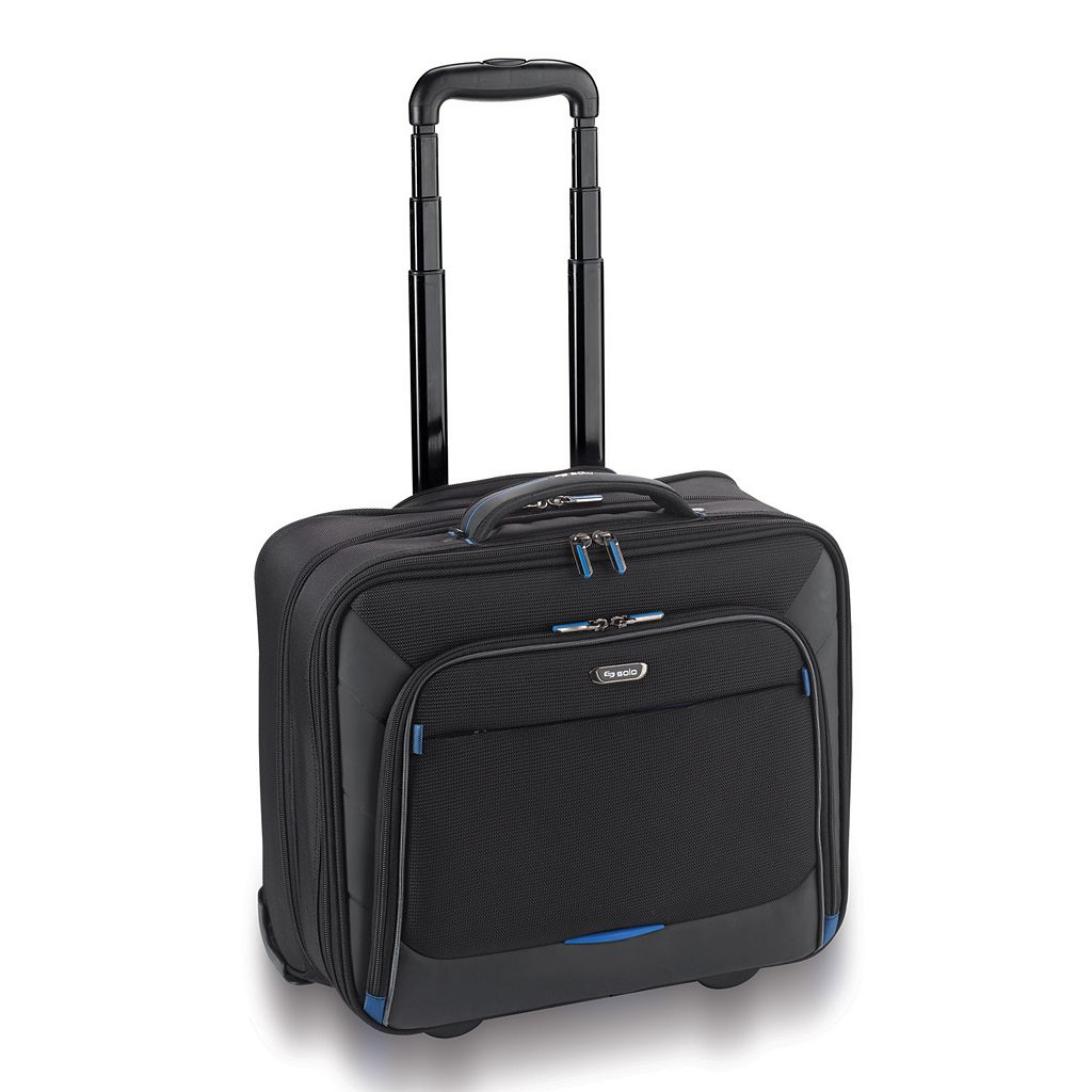Solo Tech 16-Inch Wheeled Laptop Overnight Bag