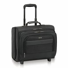 Solo Classic Rolling Nylon Laptop Overnight Bag
