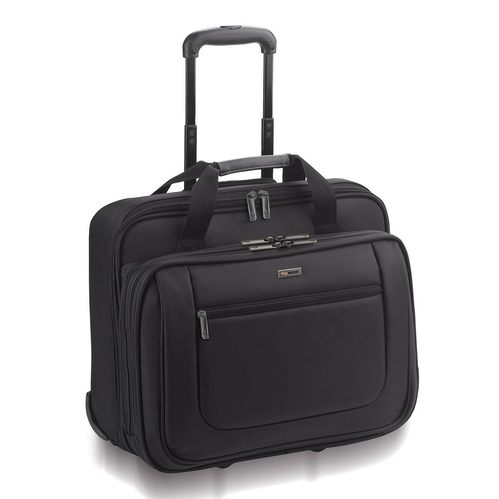 Solo Classic Rolling Laptop Overnight Bag