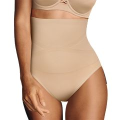 Maidenform Shapewear Slim-Waisters High-Waist Brief 12553 - Women's