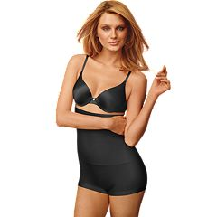 Maidenform Shapewear Slim-Waisters High-Waist Boyshorts 12555 - Women's