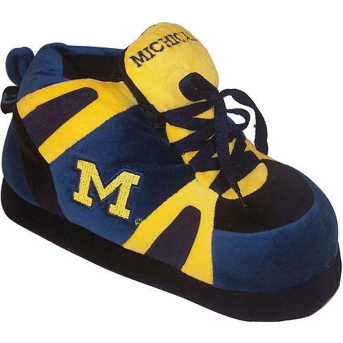Men's Michigan Wolverines Shoe Slippers