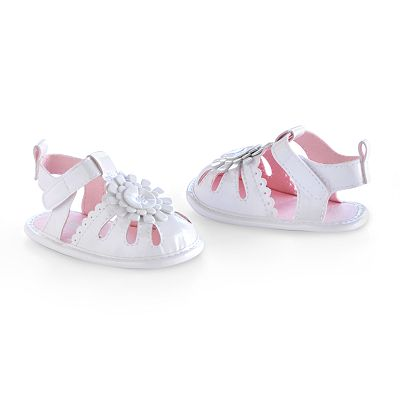 Carter's Floral Fisherman Sandal Crib Shoes - Baby