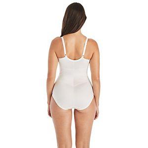 Maidenform Shapewear Lace-Trim Body Shaper 1456