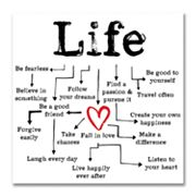 Life Canvas Wall Art