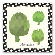 Artichokes Canvas Wall Art