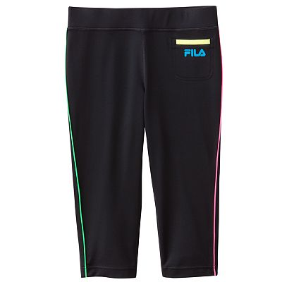 FILA SPORT Performance Capri Leggings - Girls 7-16