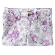Mudd Floral Denim Shorts - Girls Plus