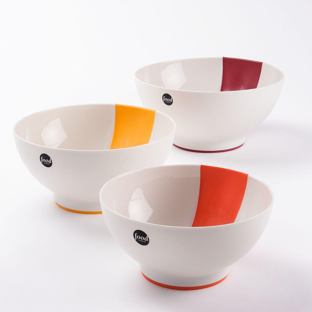 Food Network™ Pinch & Pour 3-pc. Mixing Bowl Set