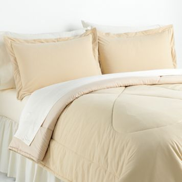 Solid Micro Flannel® 2-pc. Comforter Set - Twin