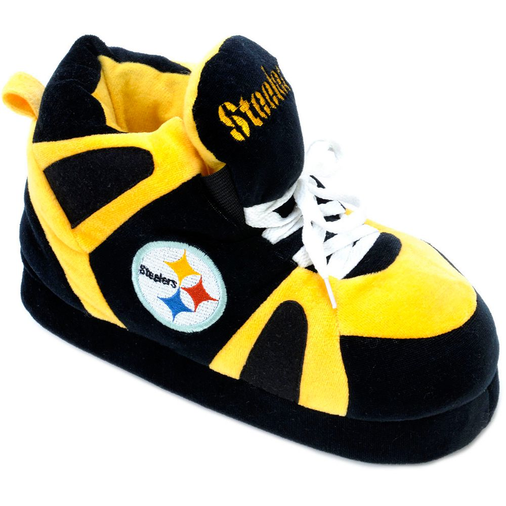 1db7e4c03ffd Men s Pittsburgh Steelers Slippers