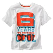 Jumping Beans 6 Years to be This Cool Birthday Tee - Boys